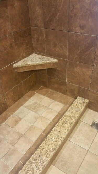 Shower Floor Using 6x6 Tiles One Direction Slope To A 4x12 Drain