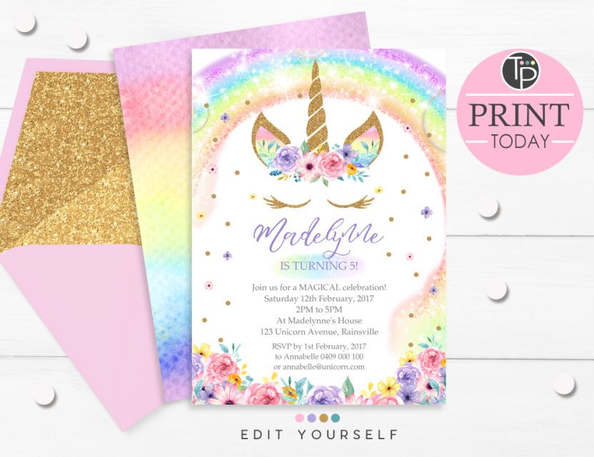 Nice Editable Birthday Invitation Template 15 For Your Maker For