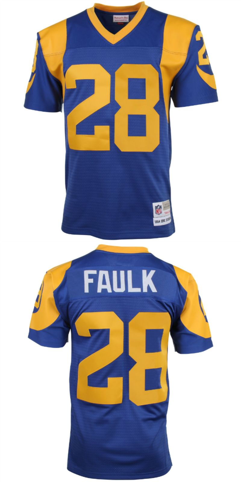 quality design 73db6 b095b UP TO 70% OFF. Marshall Faulk St. Louis Rams Mitchell & Ness ...