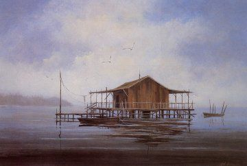 Stilt Houses In The Gulf Of Mexico Pasco County Florida