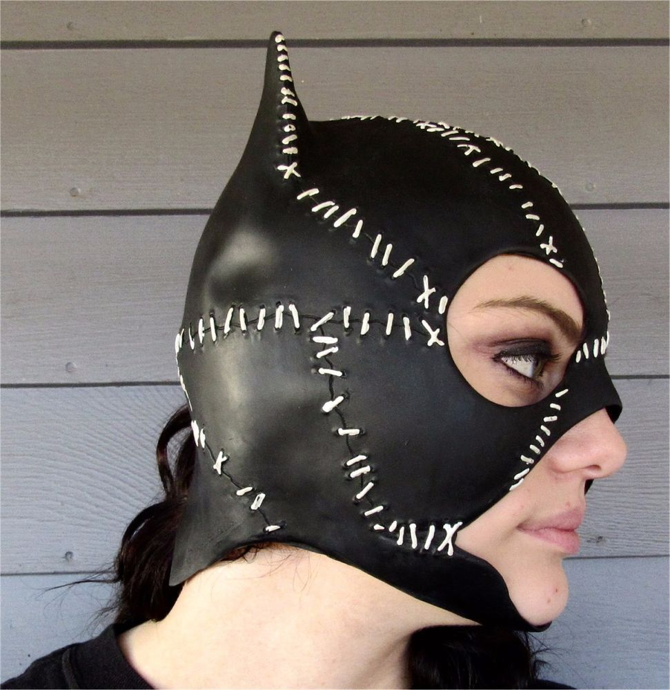BUY IT NOW! Latex Catwoman Mask 1992 DC Comics Inc Sexy Halloween ...