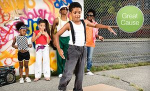 Groupon - $10 Donation to Help Kids Learn to Dance  in On Location. Groupon deal price: $10.00