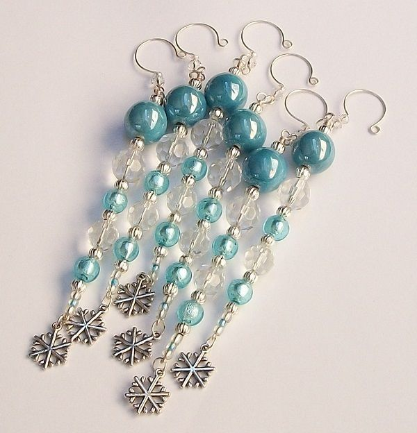 Christmas Decorations Icicle Ornaments: New For #Christmas 2013 Beaded Icicle Ornaments Set. Get