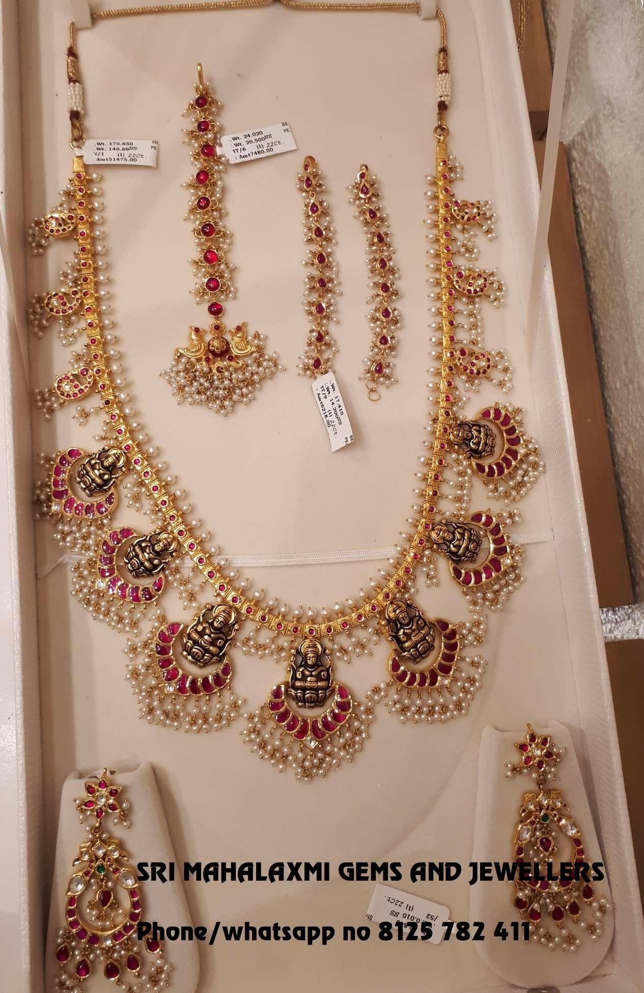 Haram set hyderabadi jewellery pinterest india jewelry indian