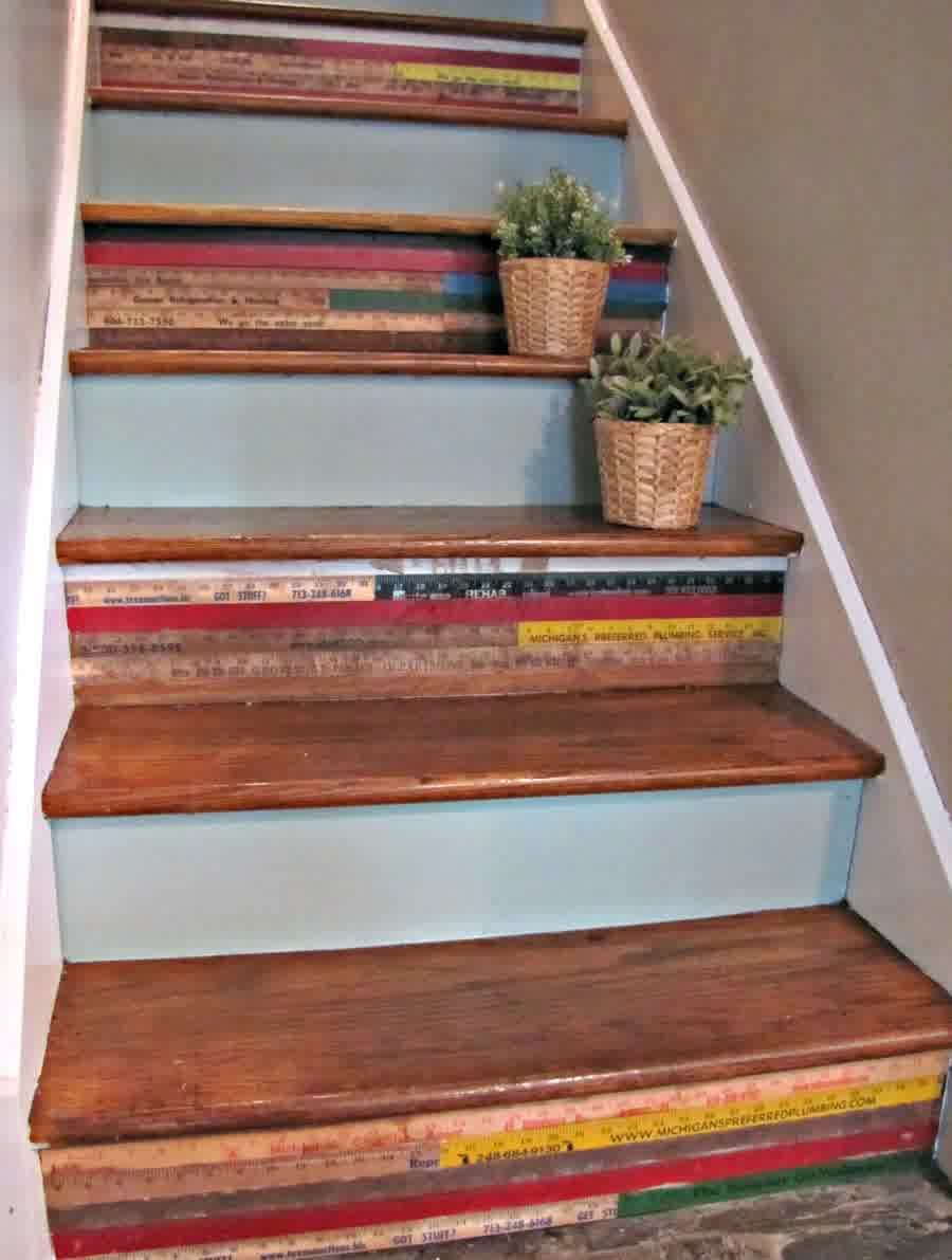 Stair Risers Ideas Image (900×1191)