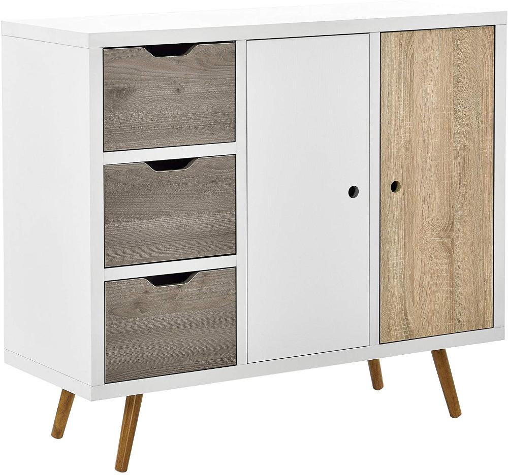 Best En Casa Dresser Cupboard Drawers Sideboard Cabinet 400 x 300