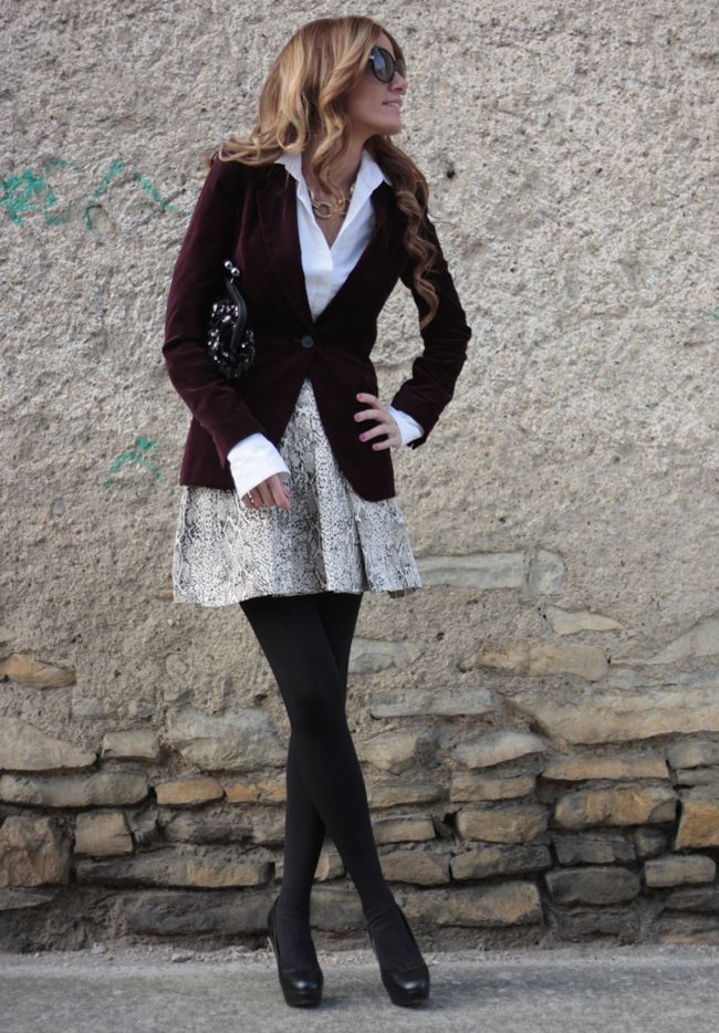 Great work outfit - stylish yet cute & feminine