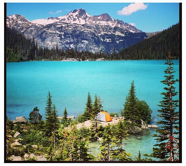 Places To Visit In Vancouver During Summer: Upper Joffre Lake, Whistler, BC; On My Summer Bucket List
