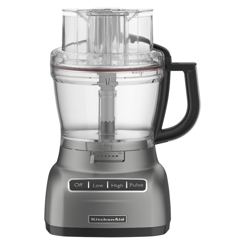 Kitchenaid 9 cup food processor kfp0922 silver food