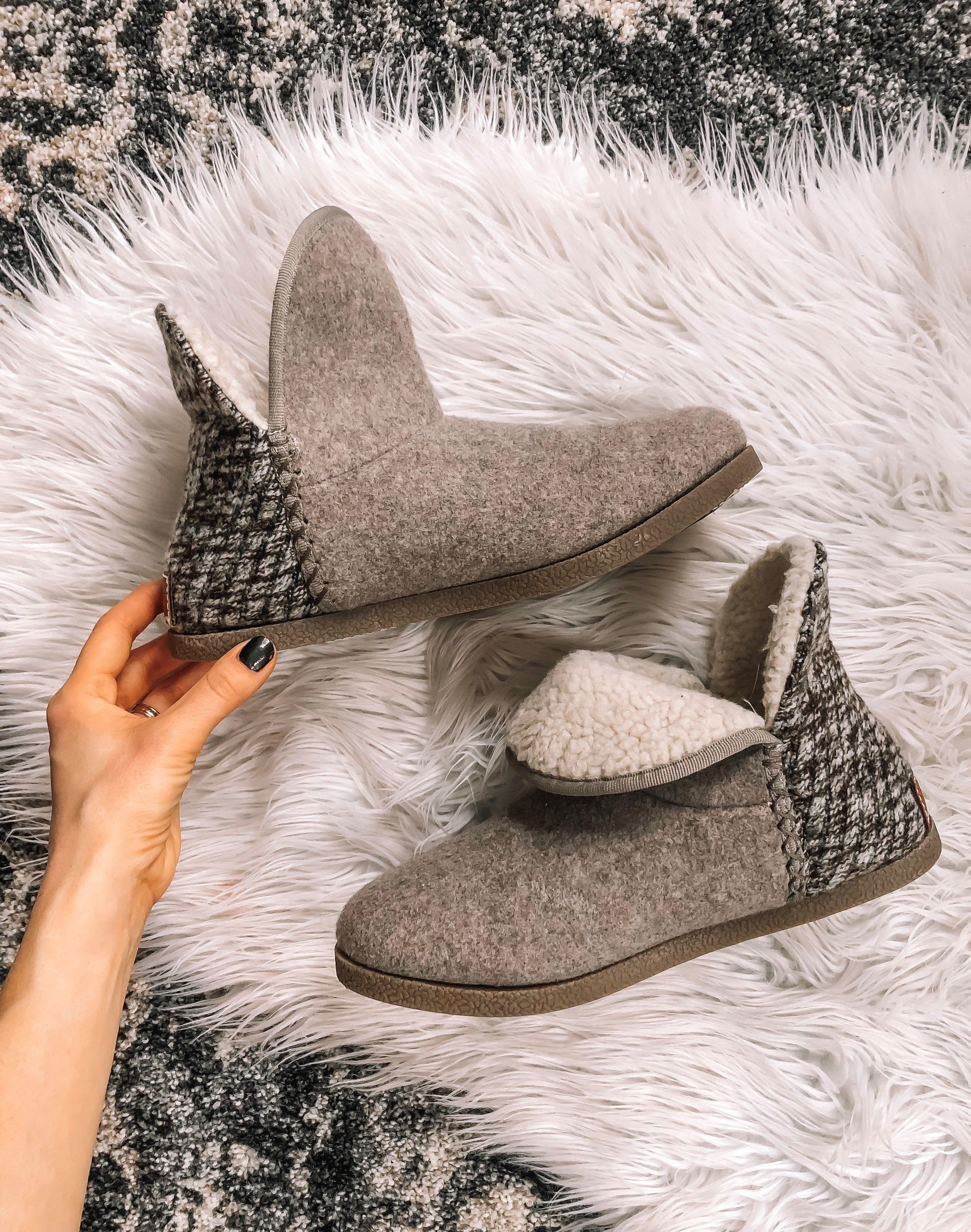 designer slipper boots