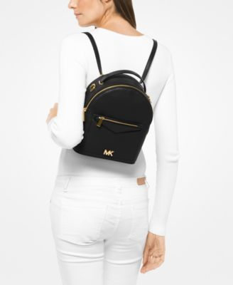 21b6c95fd173 Michael Michael Kors Jessa Small Convertible Backpack - Black ...