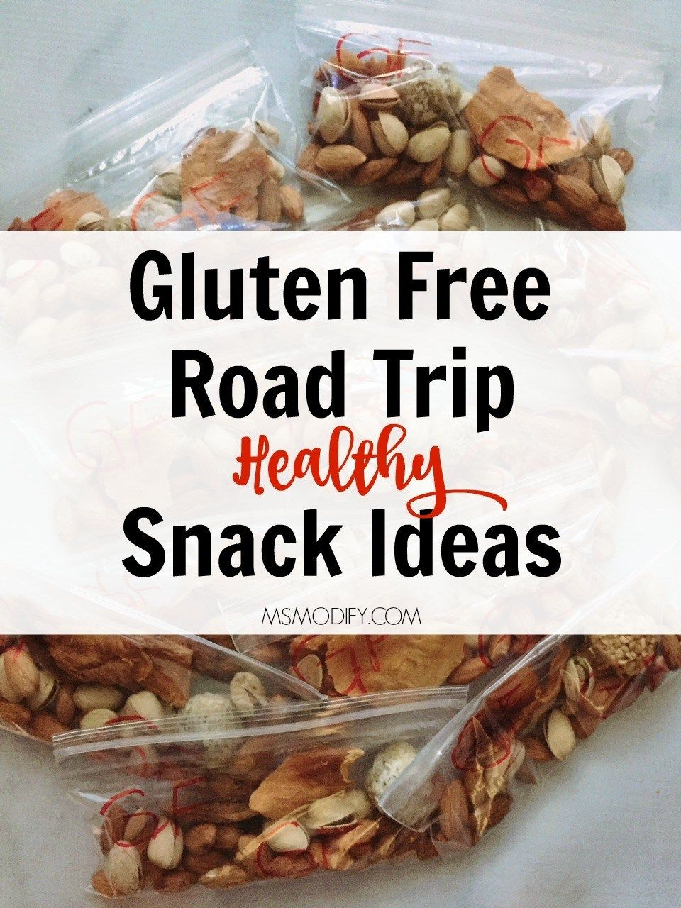 Gluten Free Road Trip Healthy Snack Ideas images