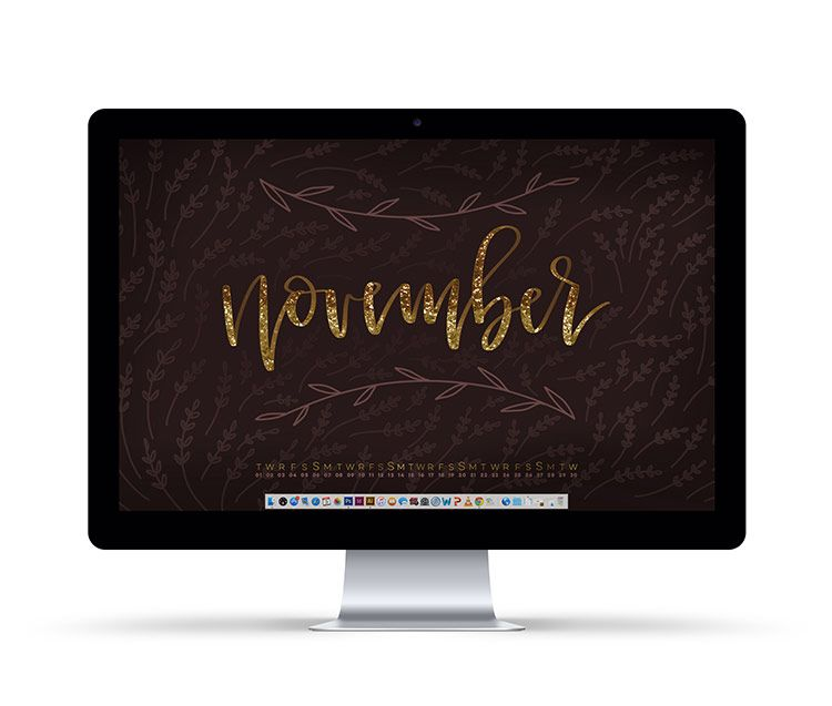 Freebie November 2016 Desktop Wallpapers Pretty phone