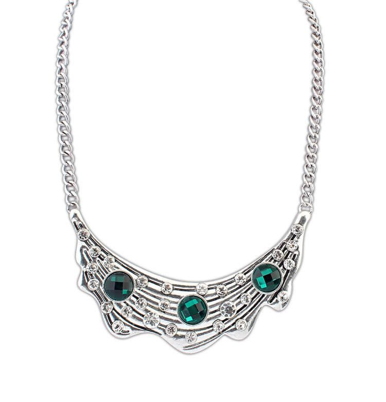 Wholesale European And American Style Diamante Women's Necklaces Price Online with $5.93/Piece | DHgate