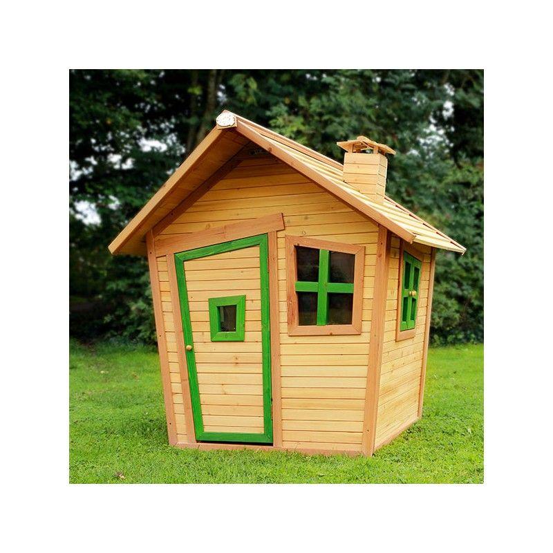 Casita de madera LULU - Casas de madera para niños - Parque De Bolas - casitas de jardin para nios
