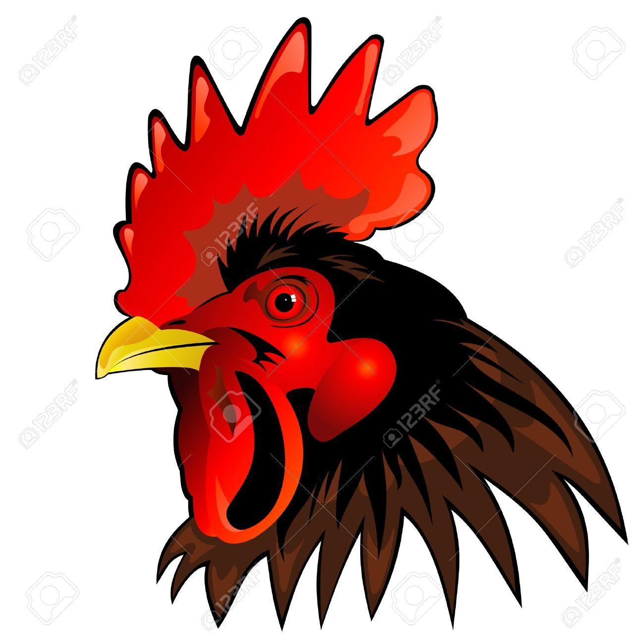 worldartsme com images rooster head clipart 1 jpg lizbday rh pinterest co uk