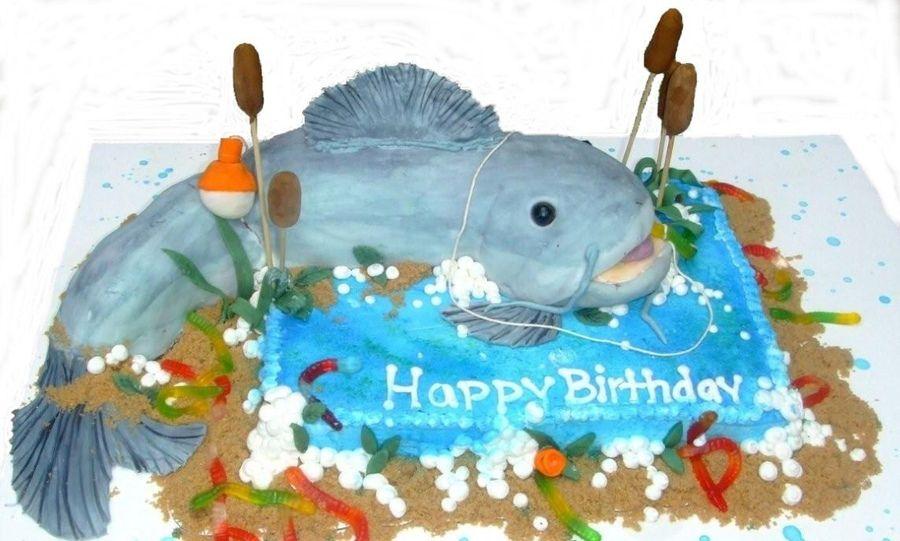Catfish Birthday Cake Photos Recipes to try Pinterest Cake