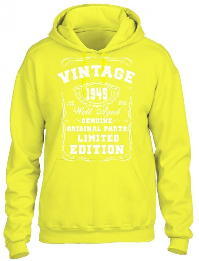 well aged original parts limited edition 1945 HOODIE