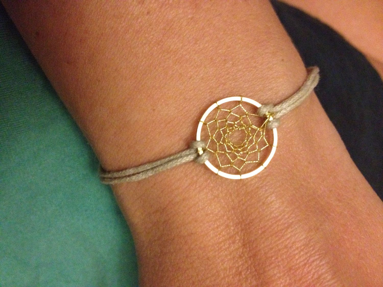 Dreamcatcher bracelet minimalist native by dreamcatcherlab on etsy