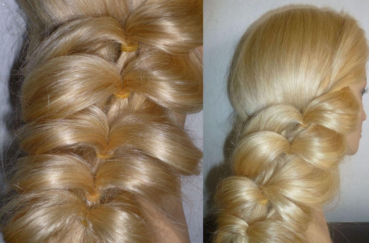 Flecht Frisuren für dünnes Haar.Zopffrisur.Ausgehhfrisur.Braid
