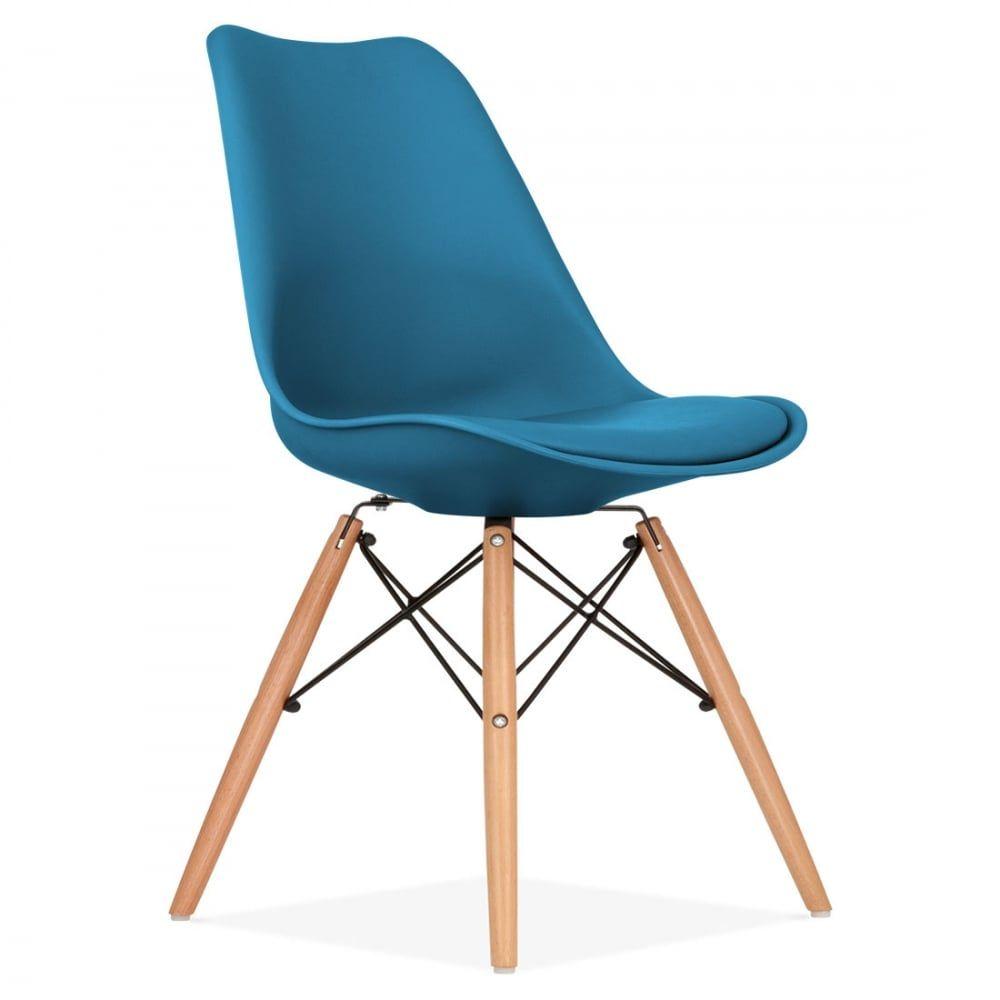 Eames inspired chaise de salle manger avec pieds de Chaise inspiration eames
