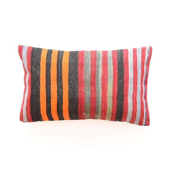 kilim pillow cover 16x26 40x65cm k46