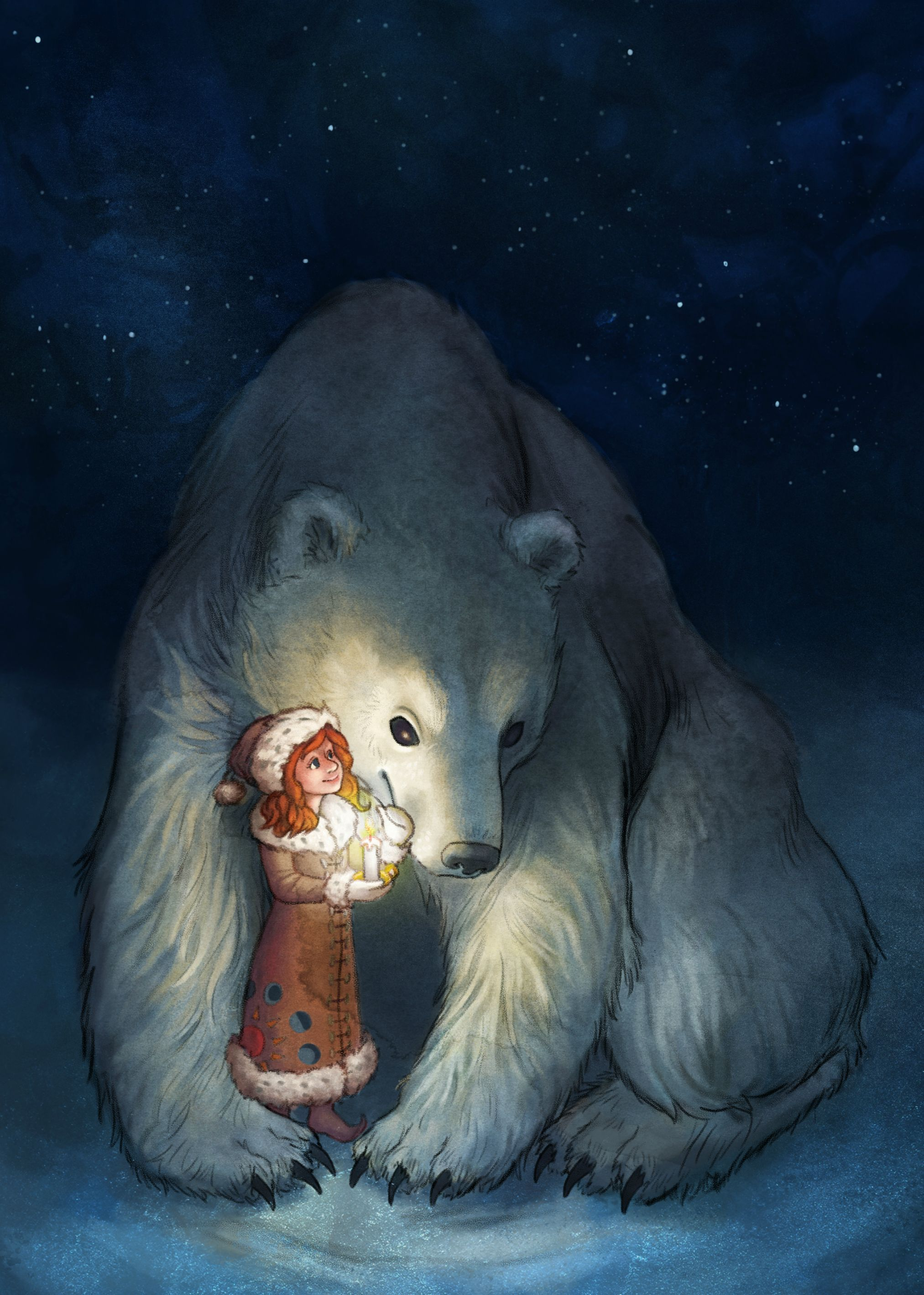картинки белых медведей фэнтези важным