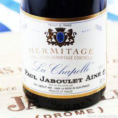 Paul Jaboulet Aine Hermitage La Chapelle 1999 Wine Bottle Wines Whiskey Bottle