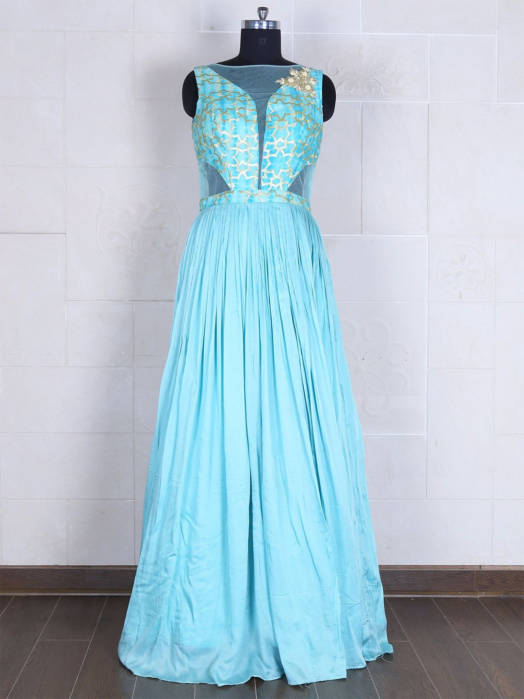 Silk See Green Gown | Buy Designer Gowns at G3 Fashion | Pinterest ...