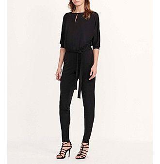 Lauren Ralph Lauren® Jersey Keyhole Jumpsuit
