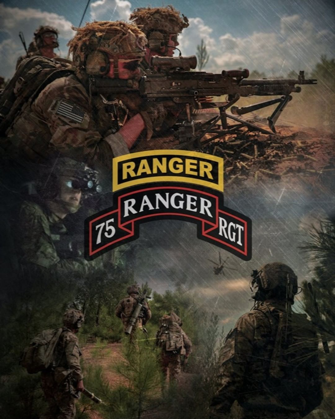 Pin by Brad Hughes on Military (With images) 75th ranger