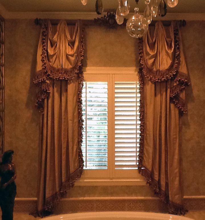 Unique Window Treatment Ideas   Custom Window Treatments and Bedding - Mathison Interiors