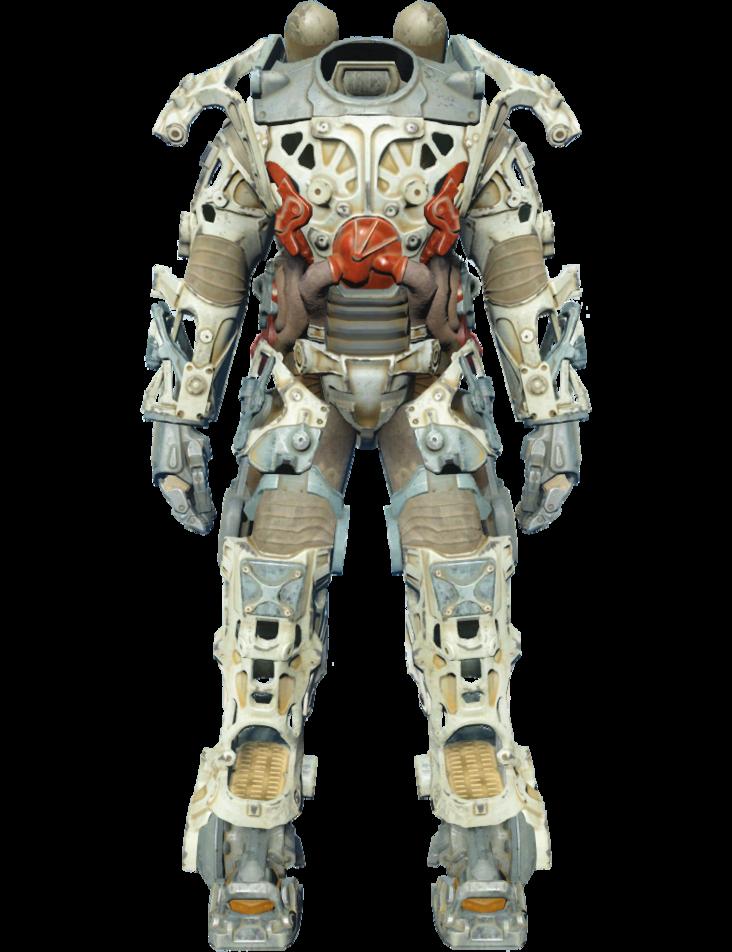 Fo4 Power Armor Frame Png Bilder Zeichnen
