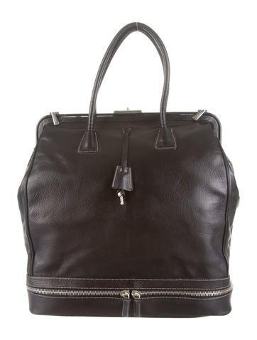 Prada Vitello Madras Cerneira Doctor Bag