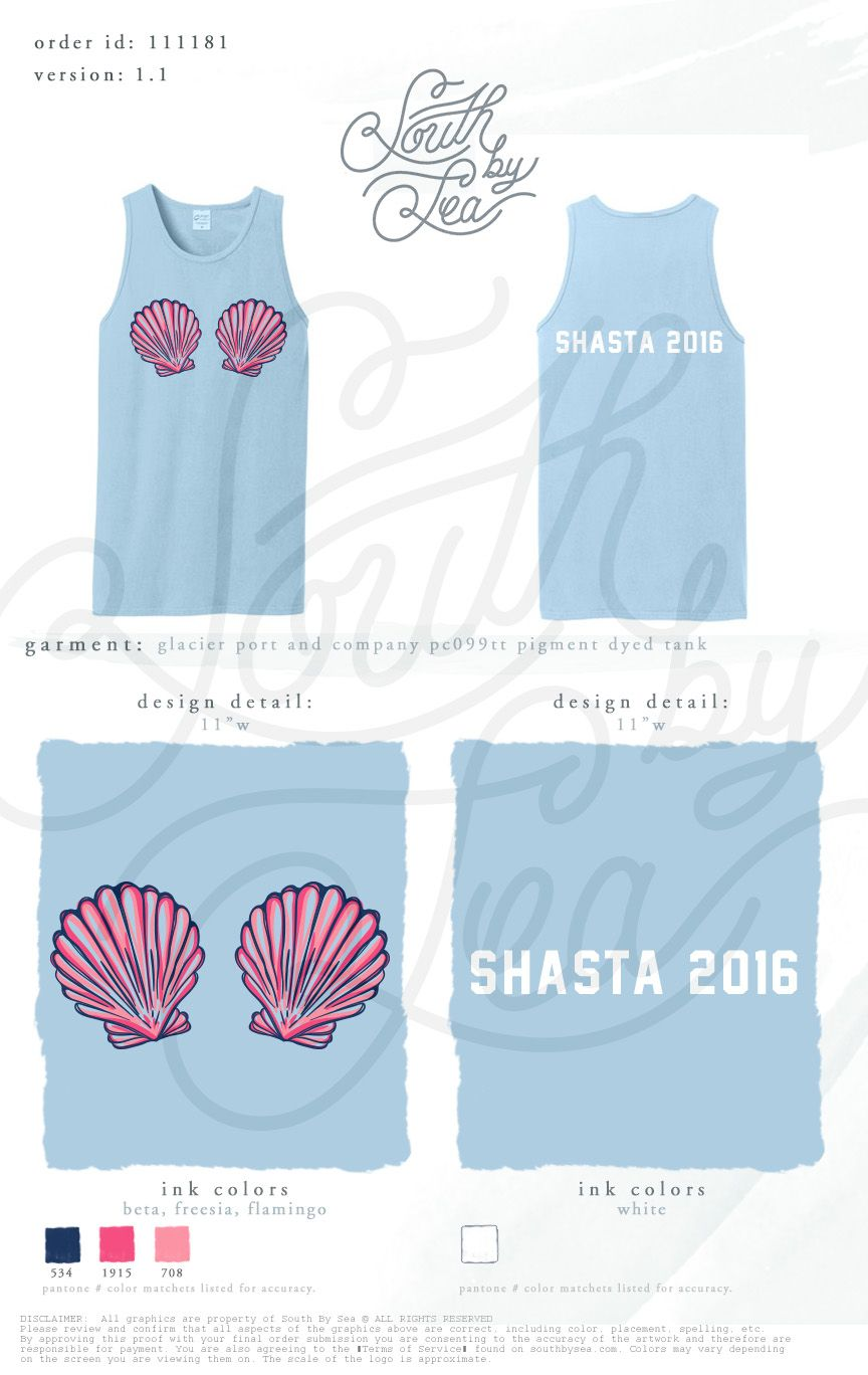 Shirt design louisville ky - Sisterhood Tank Design Beach Theme Shell Tank Sisterhood Retreat Shasta South