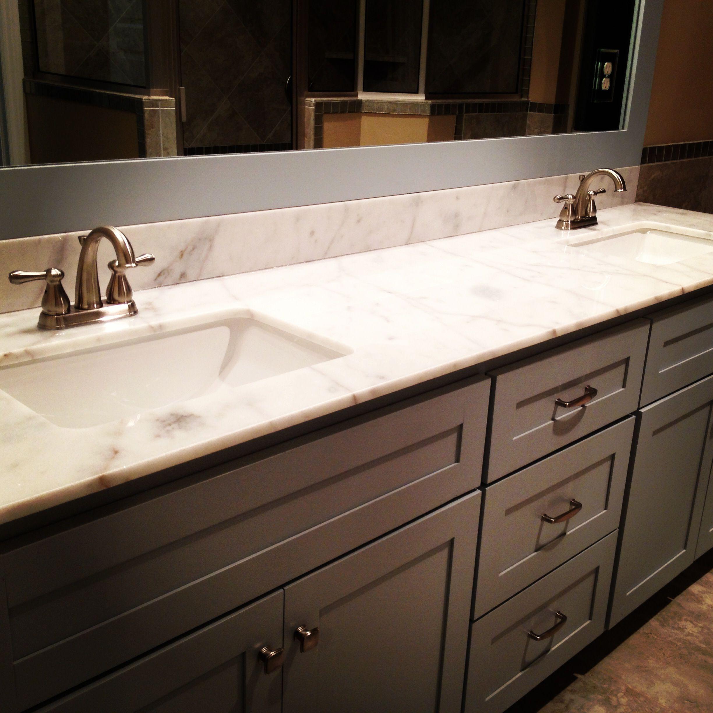 Good 2cm Blanco Levantina Granite Countertop And And Backsplash By Hōm By Warhall