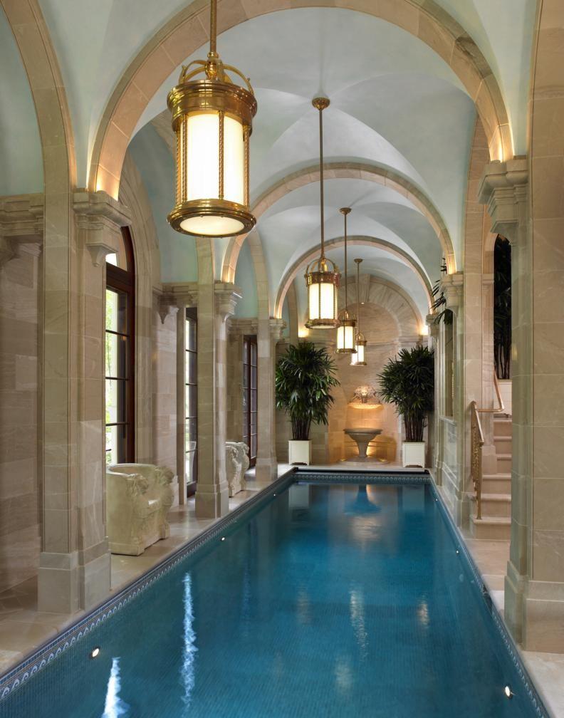 Scott Snyder Montclair New Jersey Home Indoor Pool Indoor Pool