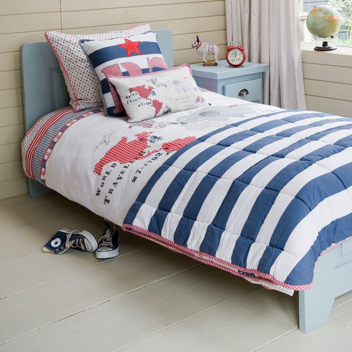 Bettwäsche \'Weltkarte\' Standardgröße von Room Seven | Home ...