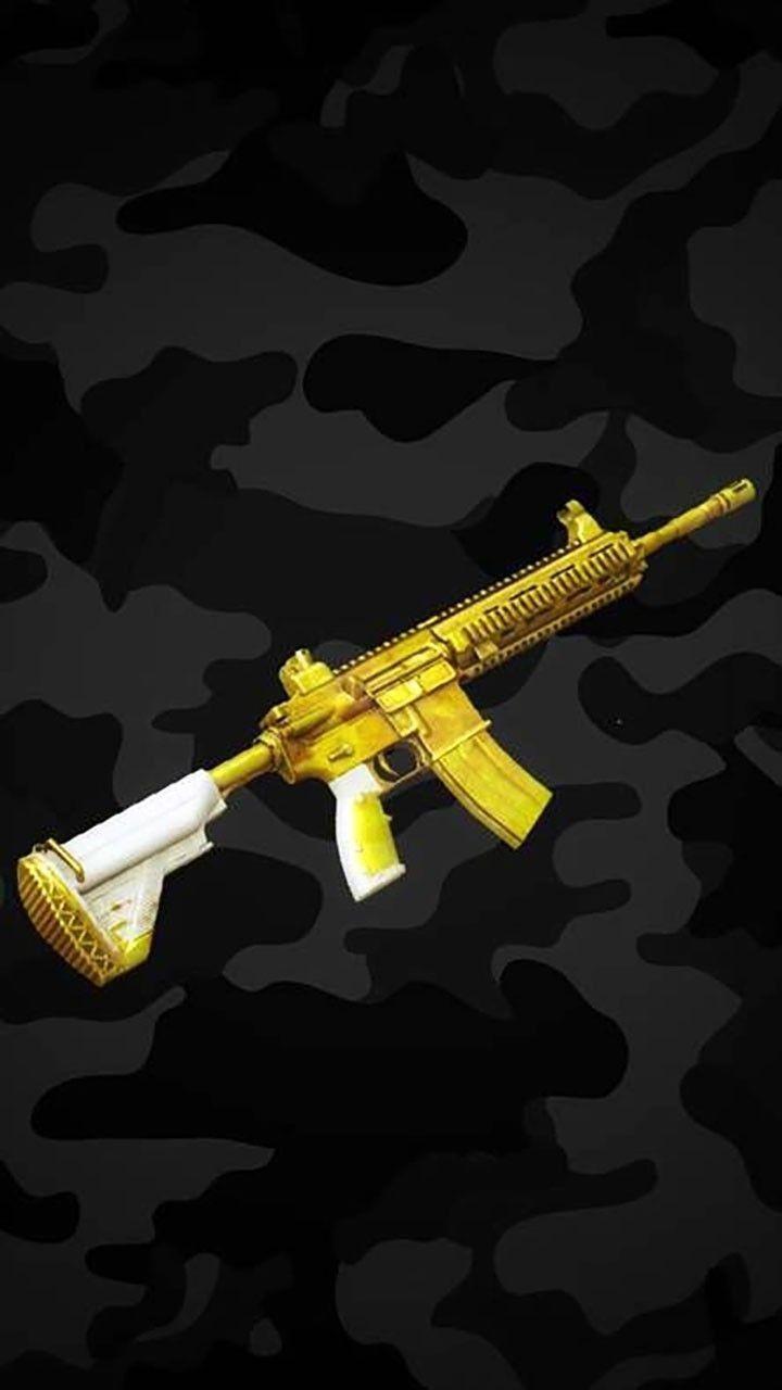 Golden M416 Skin Gunart