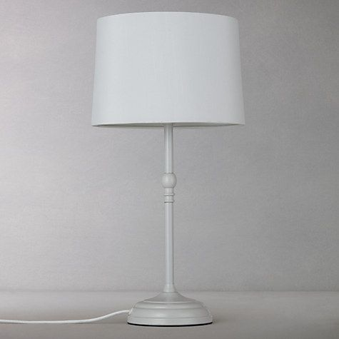Buy john lewis isabel small table lamp grey online at johnlewis buy john lewis isabel small table lamp grey from our table lamps range at john lewis mozeypictures Gallery