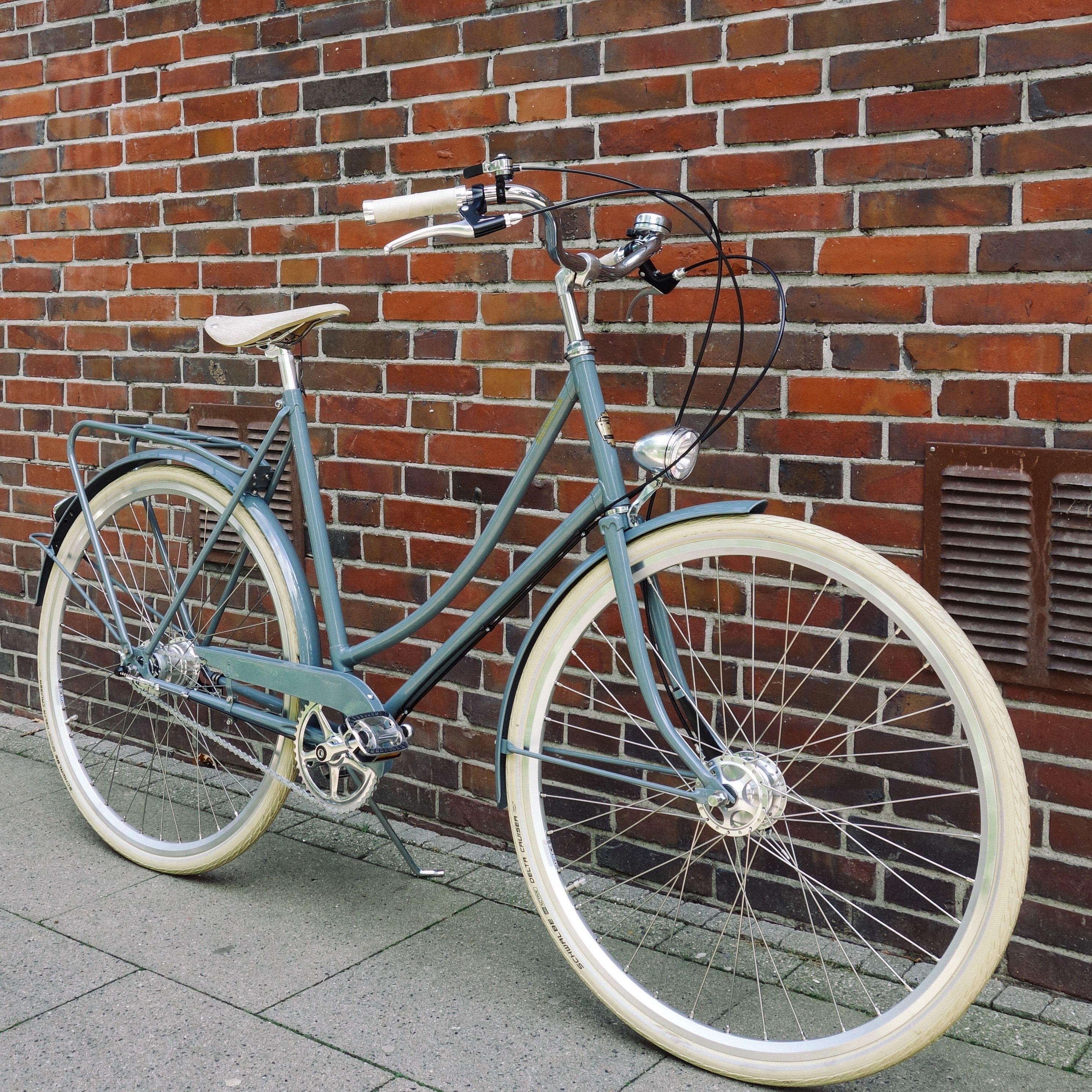 Achielle Babette steelgrey Hollandrad