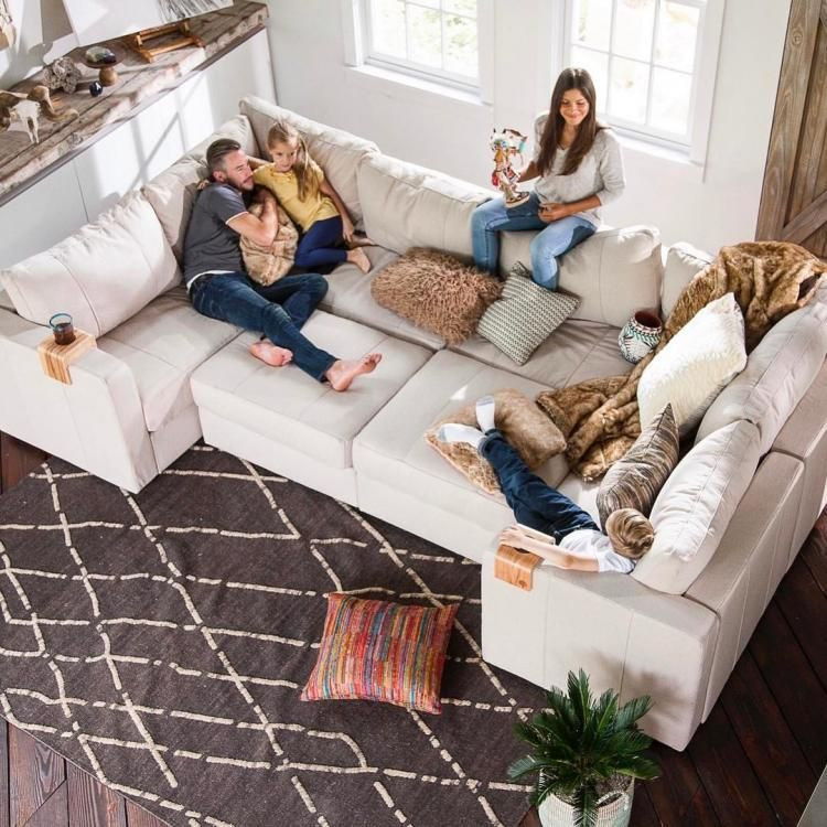Lovesac Sactional Modular Sectional Couch Lets You Create Any