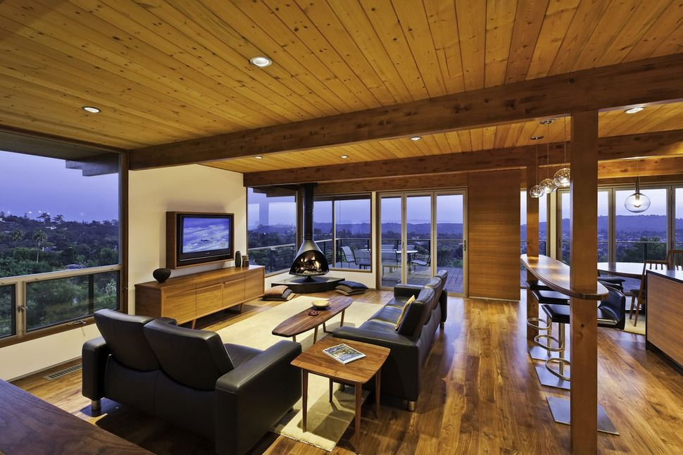 Image Result For Multi Level Mid Century Post And Beam House