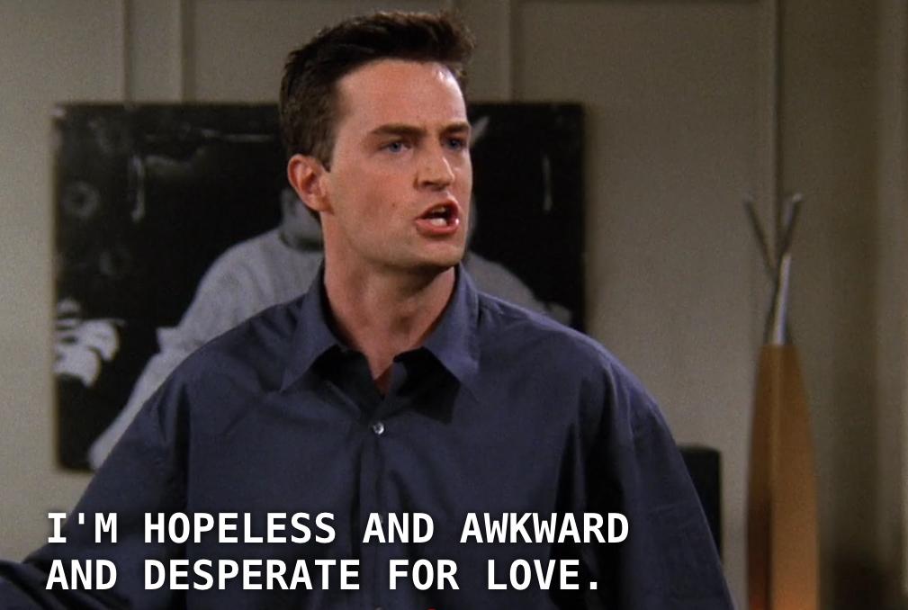 Inspirational Chandler Bing