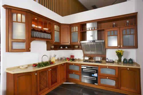 meuble de cuisine moderne en bois 1 – Idées de Décoration intérieure ...