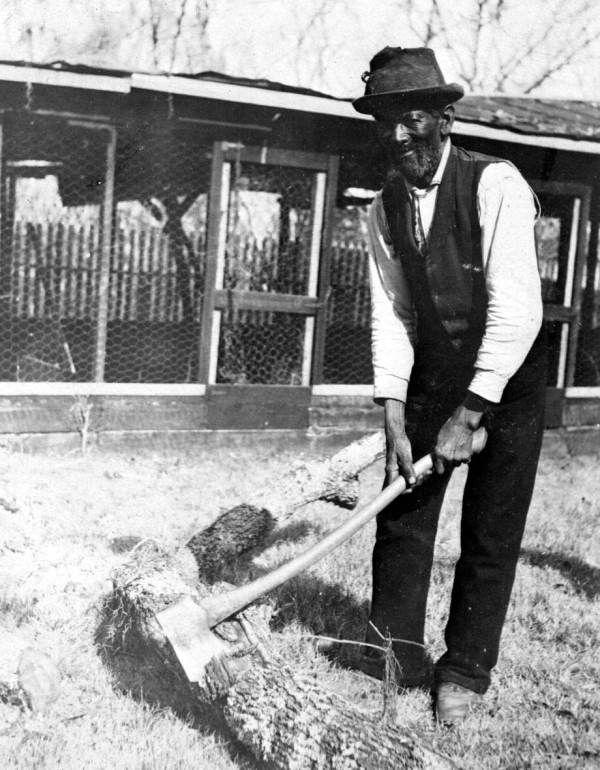 former slave at live oak plantation