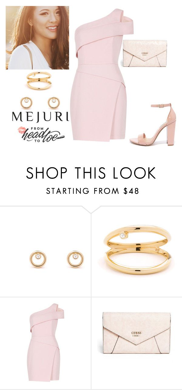 """""""Untitled #1153"""" by fiveidiotswhocantdanceverywell ❤ liked on Polyvore featuring BCBGMAXAZRIA, GUESS, Steve Madden, contestentry and jenchaexmejuri"""