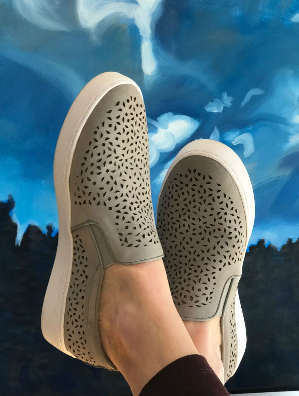 fa02b7424916 Vionic Splendid Midi Perf--Read Beth s review of this new cute yet  supportive sneaker