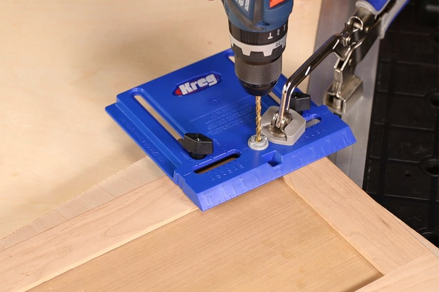Learn How To Install Knobs On Cabinet Doors Using A Simple Jig That