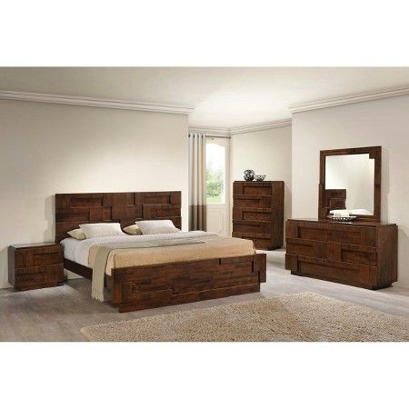 Best Zuo San Diego Bed Walnut King Target Modern 400 x 300